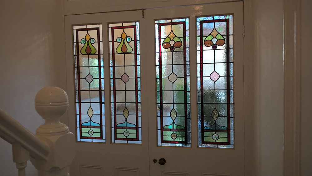 Stained glass repaired in Bristol